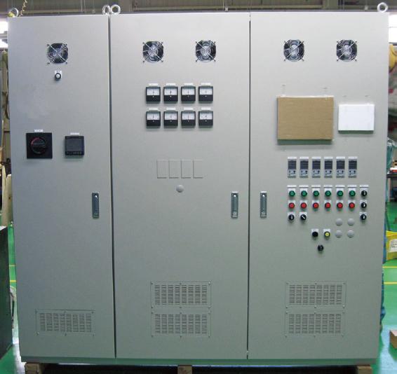 屋内防塵自立(連結)型制御盤の場合
