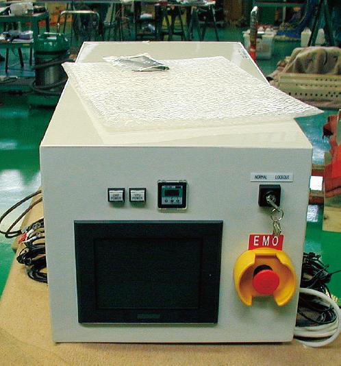 屋内防塵装置組込み型制御盤の場合