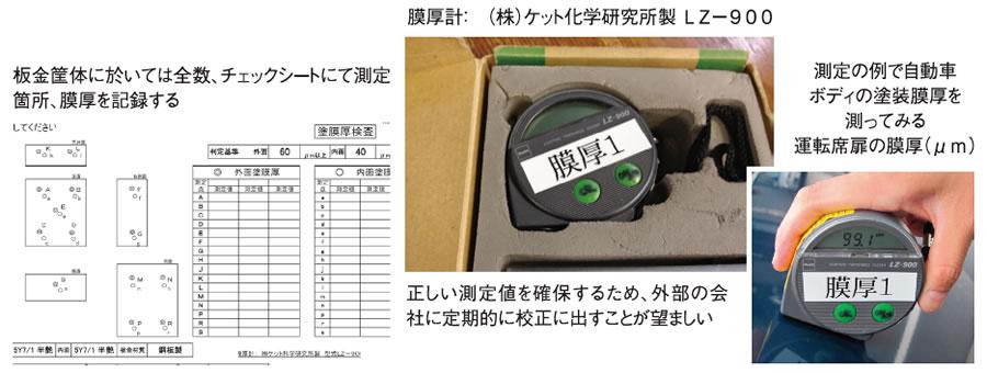 制御盤の塗装の正しい膜厚検査方法